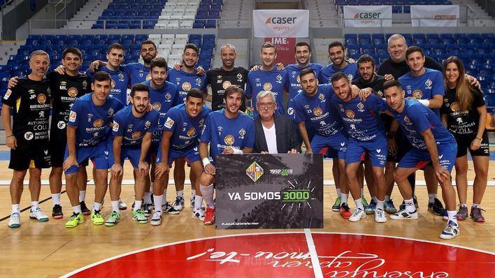 El Palma Futsal busca recuperar la senda de la victoria en Son Moix