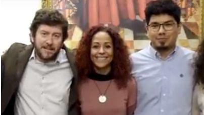 Jarabo con Jhardi y Molina, una foto que no volverá a repetirse