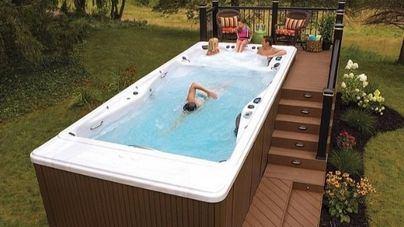 Swimspa, el jacuzzi con piscina incluida