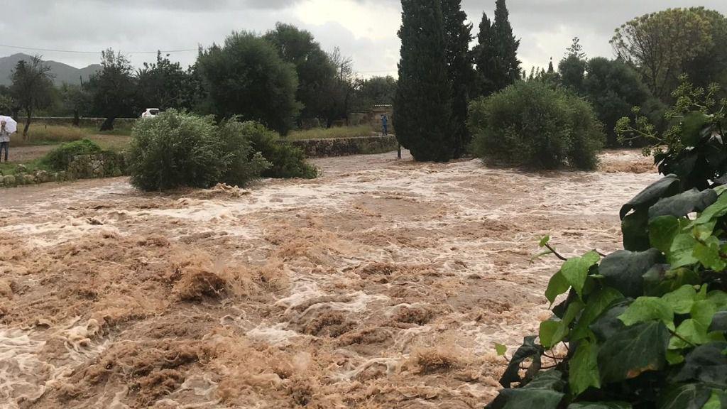 Imágenes y vídeos de las tormentas en Mallorca