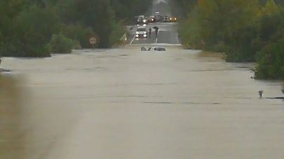 Reabiertas las carreteras cerradas por las lluvias en el norte