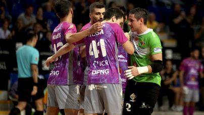 El Palma Futsal echa el cerrojo en Son Moix y recupera el liderato