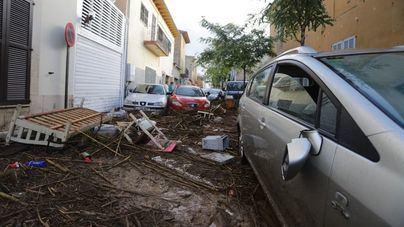 Las inundaciones en el Llevant causan daños por valor de 91 millones de euros