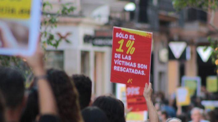 Más de 300 personas caminan contra la esclavitud sexual en Palma