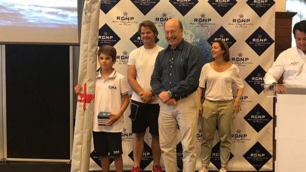 Marc Mesquida ganador de la Regata Audax Marina