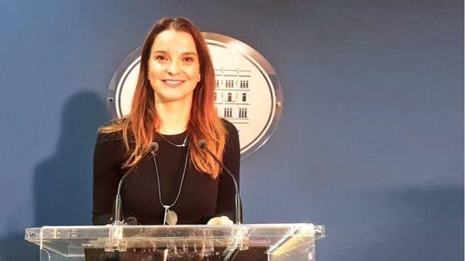 Marga Prohens, portavoz parlamentaria del PP