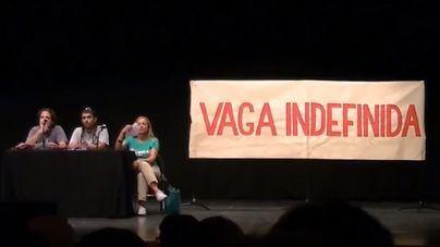 Imagen de un acto de la huelga de 2013