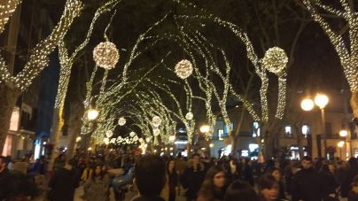 La campaña de Navidad creará en Balears un 8,3 por ciento más de contratos que el año pasado