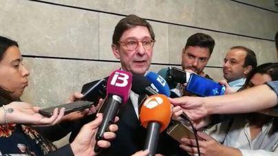 Goirigolzarri reclama en Palma seguridad jurídica para superar la crisis de las hipotecas