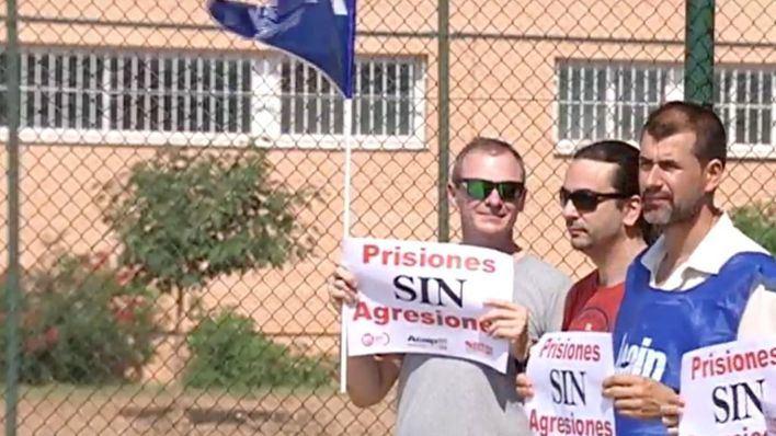 La huelga de funcionarios de prisiones comienza este miércoles