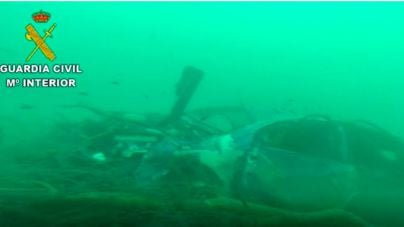Los GEAS hallan un vehículo en el fondo marino de s'Illot, arrastrado por la riada