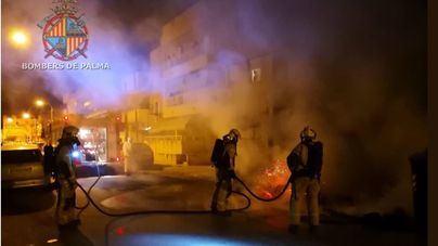 La quema de contenedores cuesta a Emaya 250.000 euros en un año