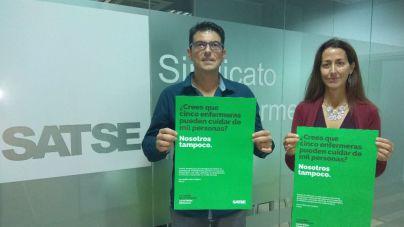 El sindicato Satse indica que en Balears faltan 3.534 enfermeras