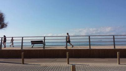 Cielos despejados con vientos flojos en Mallorca