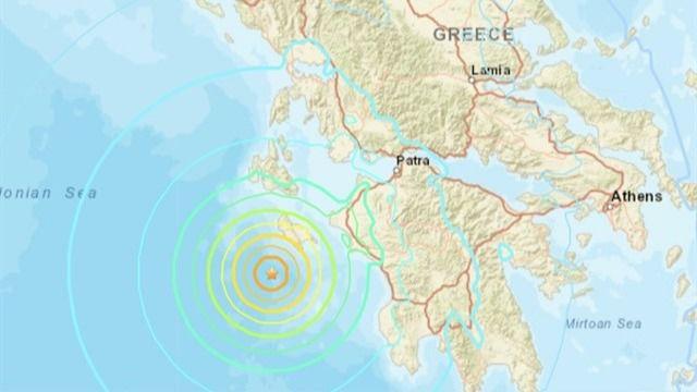Un terremoto de magnitud 6,8 sacude la costa de Grecia