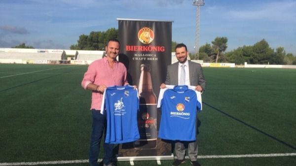 Bierkönig Mallorca Craft Beer patrocinador del UD Arenal