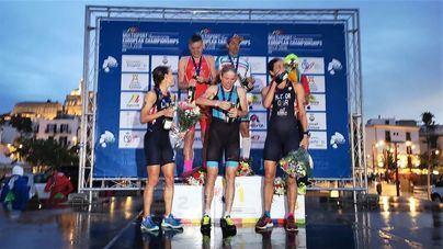 Molinari y Tondeur ganan el Campeonato de Europa de Triatlón en Ibiza