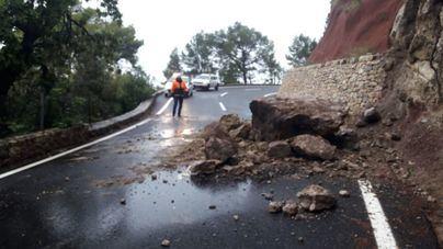 Baleares registra 97 incidentes provocados por las lluvias, la mayoría en Mallorca