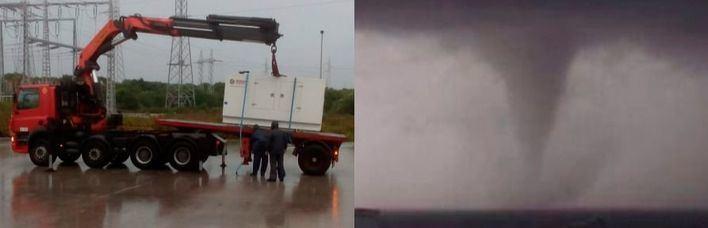 Envían 70 generadores eléctricos de Barcelona y Valencia a Menorca