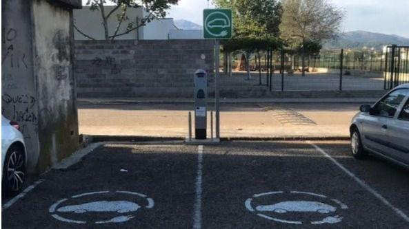 Exigen a Sa Pobla que repare los puntos de carga para coches eléctricos