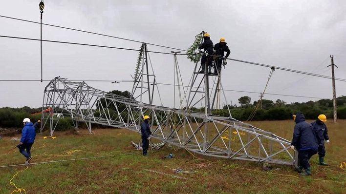 Red Eléctrica restablecerá el suministro eléctrico en Menorca en un plazo de 48 horas