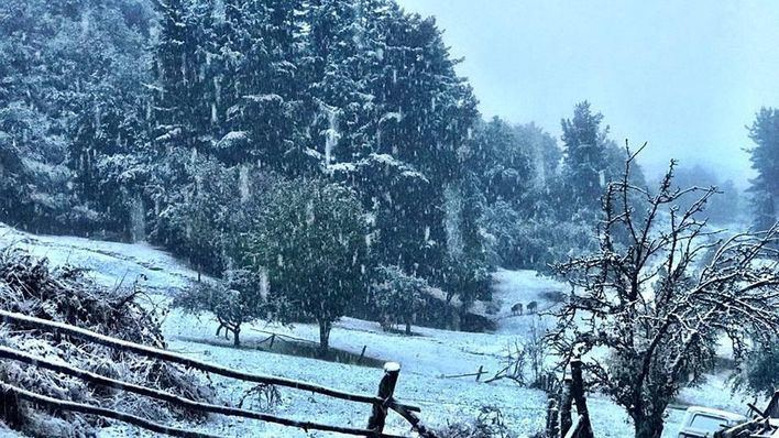 Protección Civil avisa por lluvia, viento y nevadas en diversas zonas del país