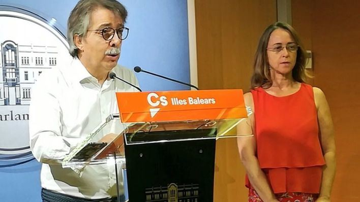 Ciudadanos registra una petición para que el Parlament balear solicite el 155 para Cataluña
