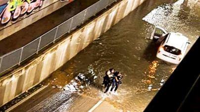 Registrados 191 incidentes en Baleares a consecuencia del temporal de lluvias y tormentas