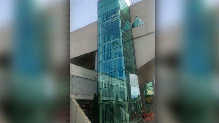 Son Sant Joan estrena dos ascensores panorámicos