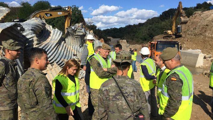 El Consell planea montar un puente militar provisional para habilitar la carretera Artà-Can Picafort