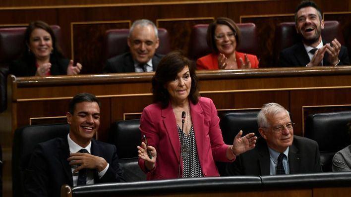 """Calvo confirma que no habrá nueva financiación autonómica """"por falta de tiempo y las elecciones de 2019"""""""