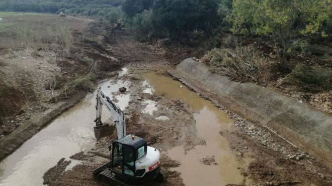 El Govern destina 25 millones a arreglar los torrentes del Llevant afectados por las riadas