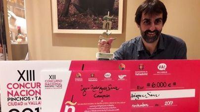 Igor Rodríguez presenta la tapa con la que representa a España en el Campeonato Mundial
