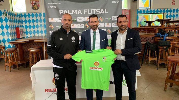 Bierkönig reafirma su apuesta por el Palma Futsal