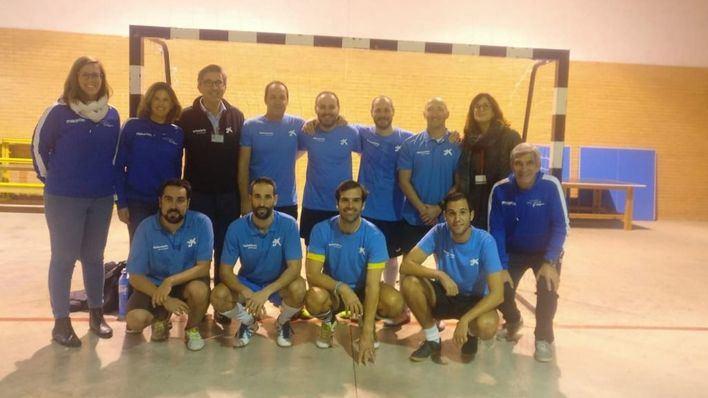 Más de 40 presos de Palma juegan un partido amistoso