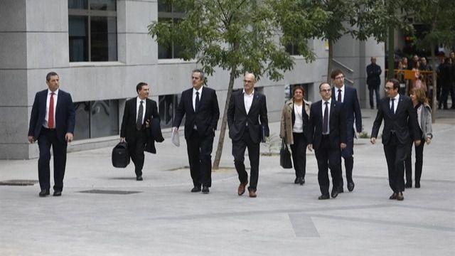La Fiscalía pide hasta 25 años de prisión para los líderes del