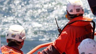 Amplían a 60 metros mar adentro el radio de búsqueda de la turista francesa desaparecida en s'Algar