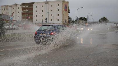 Domingo lluvioso en Menorca y nublado en el resto de Baleares