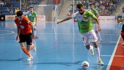 Goleada del Palma Futsal 5 a 0 contra el Ribera Navarra