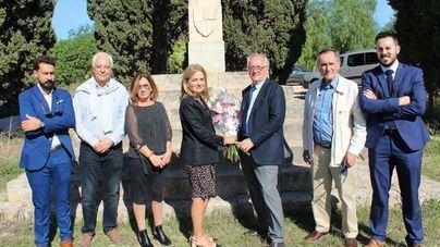 La Fundación Jaume III denuncia un ataque catalanista en la cruz del Rey Jaime III en Llucmajor