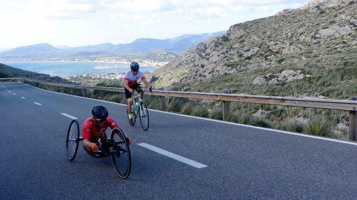 Wilk y Moshkovich, líderes tras la III etapa de 'Mallorca Handbike Tour by Toyota'