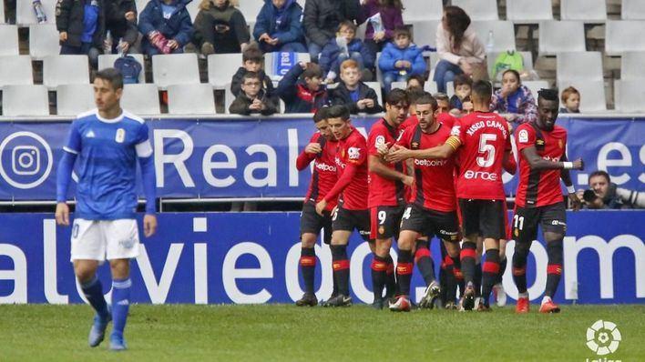 Reparto de puntos entre Mallorca y Oviedo en el Carlos Tartiere