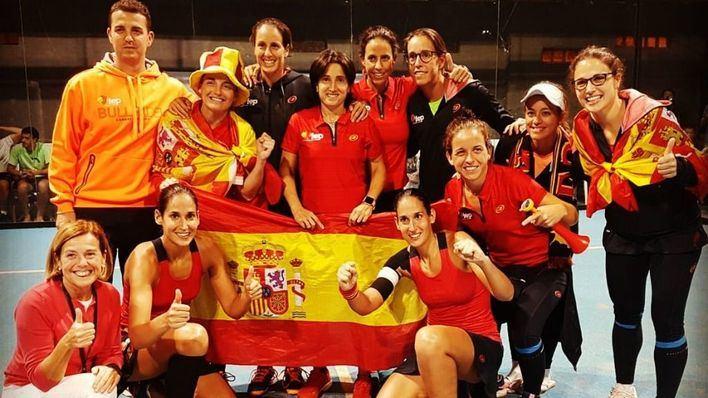 España campeona mundial de pádel femenino tras ganar contra Argentina