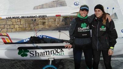 Cata Homar y María Bover, campeonas de España de 420