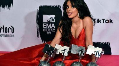 Camila Cabello triunfa en los EMAs de la MTV