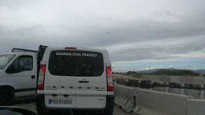 Seis heridos, uno grave, al salirse un coche de la carretera de Petra a Santa Margalida