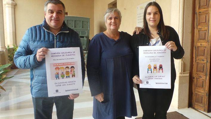 Andratx pone en marcha una campaña de recogida de juguetes
