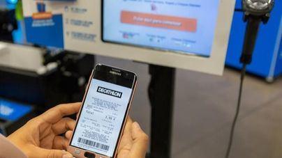 Decathlon implanta el ticket digital en todas sus tiendas en España
