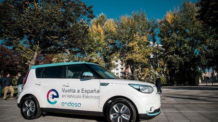 Mallorca acoge la 9ª etapa de la II vuelta a España en un vehículo eléctrico