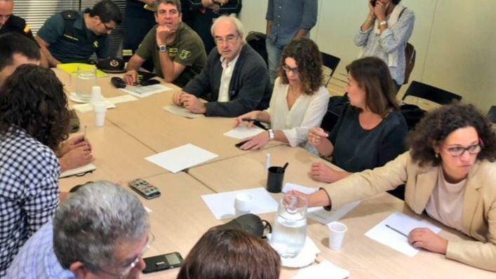 Cladera no ve relación entre la situación del 112 y la tragedia de Sant Llorenç